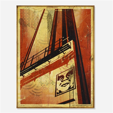 sunset and vine by shepard fairey
