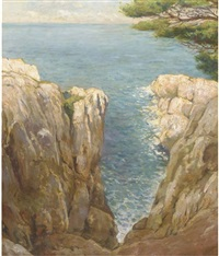 the mediterranean coast by johannes graadt van roggen