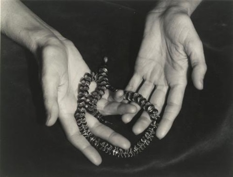 hands of annette rosenshine san francisco california by ansel adams