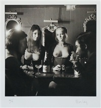 topless bar by lewis morley