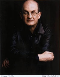 salman rushdie by timothy greenfield-sanders