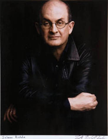 salman rushdie by timothy greenfield sanders