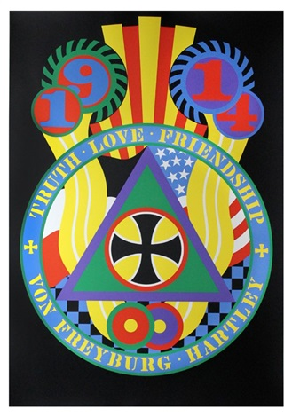 the hartley elegies berlin series kvf v by robert indiana