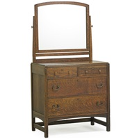 dresser with mirror by charles limbert