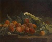 composition aux pêches by henri privat-livemont
