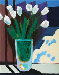 tulips, wilshire street (sury hills) by chris capper