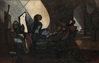 le vieux peintre et ses fantasmes by paul ackermann