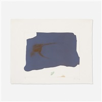 variation ii on 'mauve corner by helen frankenthaler