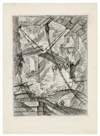 The Drawbridge, Plate VII, from: Carceri, 1749–1750