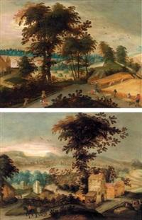 l'eté et l'automne (collab. w/studio)(pair) by abel grimmer