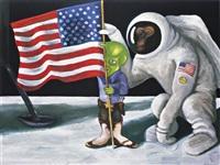 space-ape and tex by sean landers