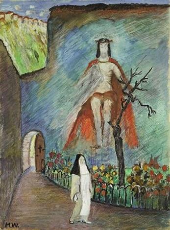 klostergarten by marianne werefkin