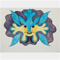 untitled (fantastic creature) by kenojuak ashevak
