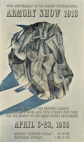 50th anniversary of the famous international armory show 1913 by marcel duchamp
