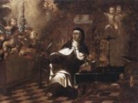 santa teresa de jesús by lucas de valdes