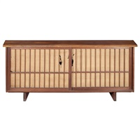 two door radio cabinet by george nakashima