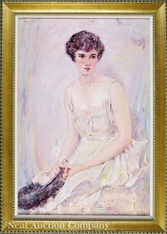 portrait of elise mason smith later mrs harry turner howard jr by robert reid