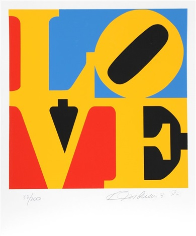 the book of love 6 by robert indiana