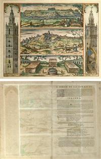 la giralda y vistas de san juan de alfarache y gerena by joris (george) hoefnagel