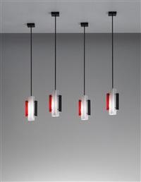 ceiling lights (set of 4) by boris jean lacroix
