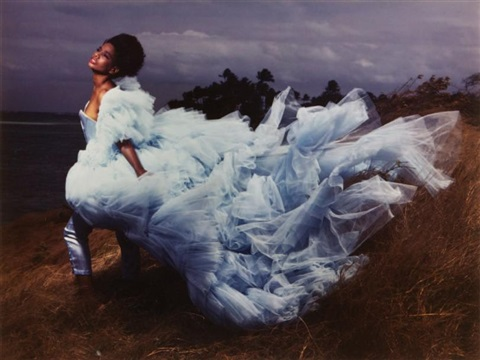 la mariée by guy bourdin