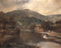classical landscape by william joseph wadham