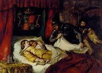 the death of edward v and his brother richard, duke of york, in the tower, 1483 by william simson