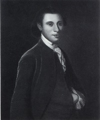 portrait of william knox of virginia by john hesselius
