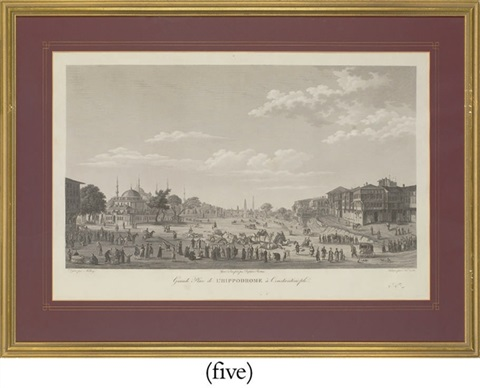 views of constantinople and its environs from voyage pittoresque de constantinople et des rives du bosphore5 works by antoine ignace melling