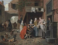 the mussel vendor by jan josef horemans the younger