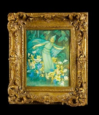 fairy plaque by margaret winifred tarrant