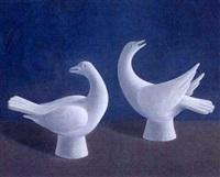 pobres palomas de yeso by martin rigo