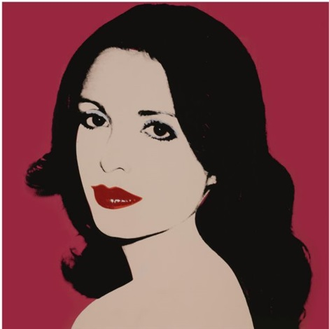 Top Portrait of Laura de Coppet by Andy Warhol on artnet KF54