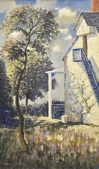 farmhouse stairs by norman lloyd
