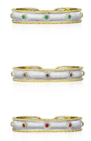 set of cuff bracelets 3 works by buccellati