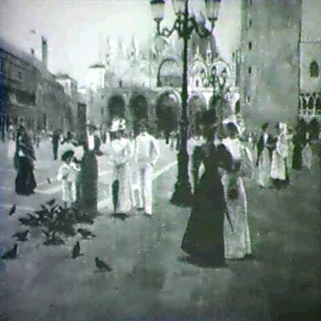 st. mark's square, venice by romolo tessari