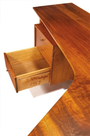 desk by richard artschwager