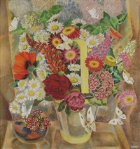 summer flowers by george rober
