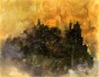 abstrakte landschaft by christian kruck