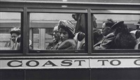 greyhound bus passengers (coast to coast) by esther bubley