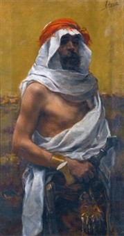 an arab man by joaquín agrasot y juan
