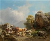 almauftrieb by joseph heicke