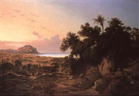 gulf of palermo with monte pellegrino by joseph firmenich