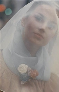 untitled (portrait) by saul leiter