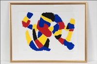 red-yellow-blue composition by ernst mether-borgstrom