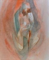 danseuse a l'ombrelle by jean-baptiste valadie