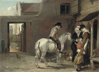 an eton courtyard by edmund bristow