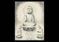 three buddhas by akira akizuki