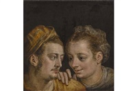 junges paar by frans floris the elder