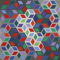 deuton-g by victor vasarely